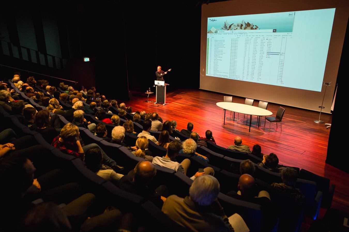 Jacco van Ossenbruggen (hoofd Information Access bij de onderzoeksgroep CWI)