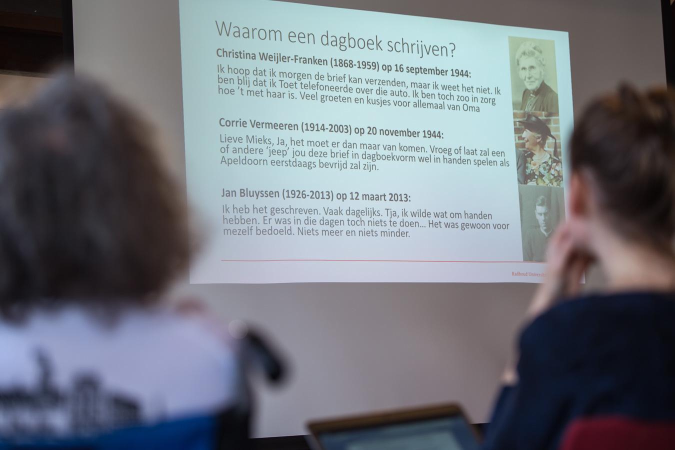 Joost Rosendaal onderzocht waarom mensen oorlogsdagboeken bijhielden