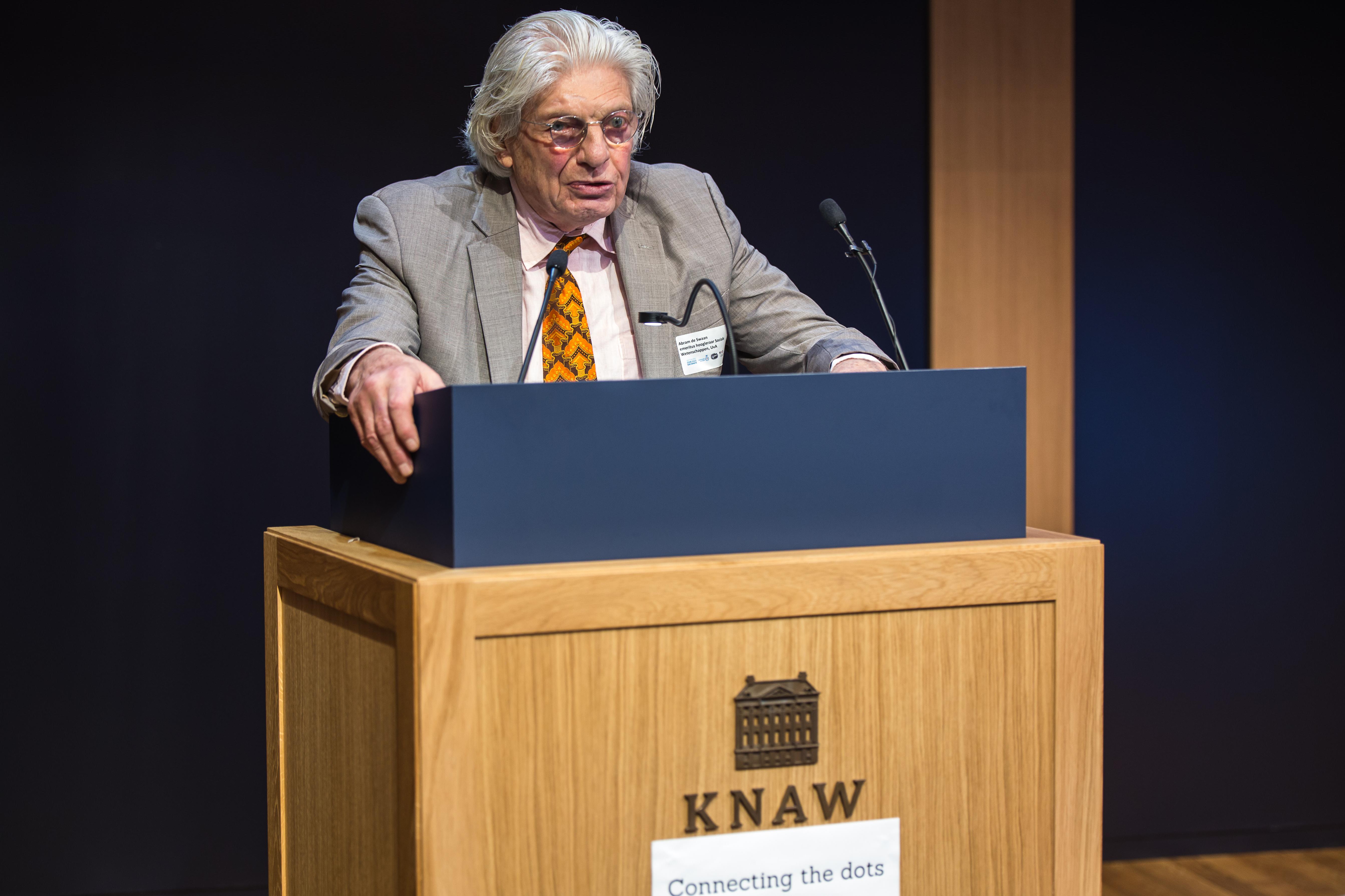 Abram de Swaan (emeritus hoogleraar Sociale Wetenschap, UvA)