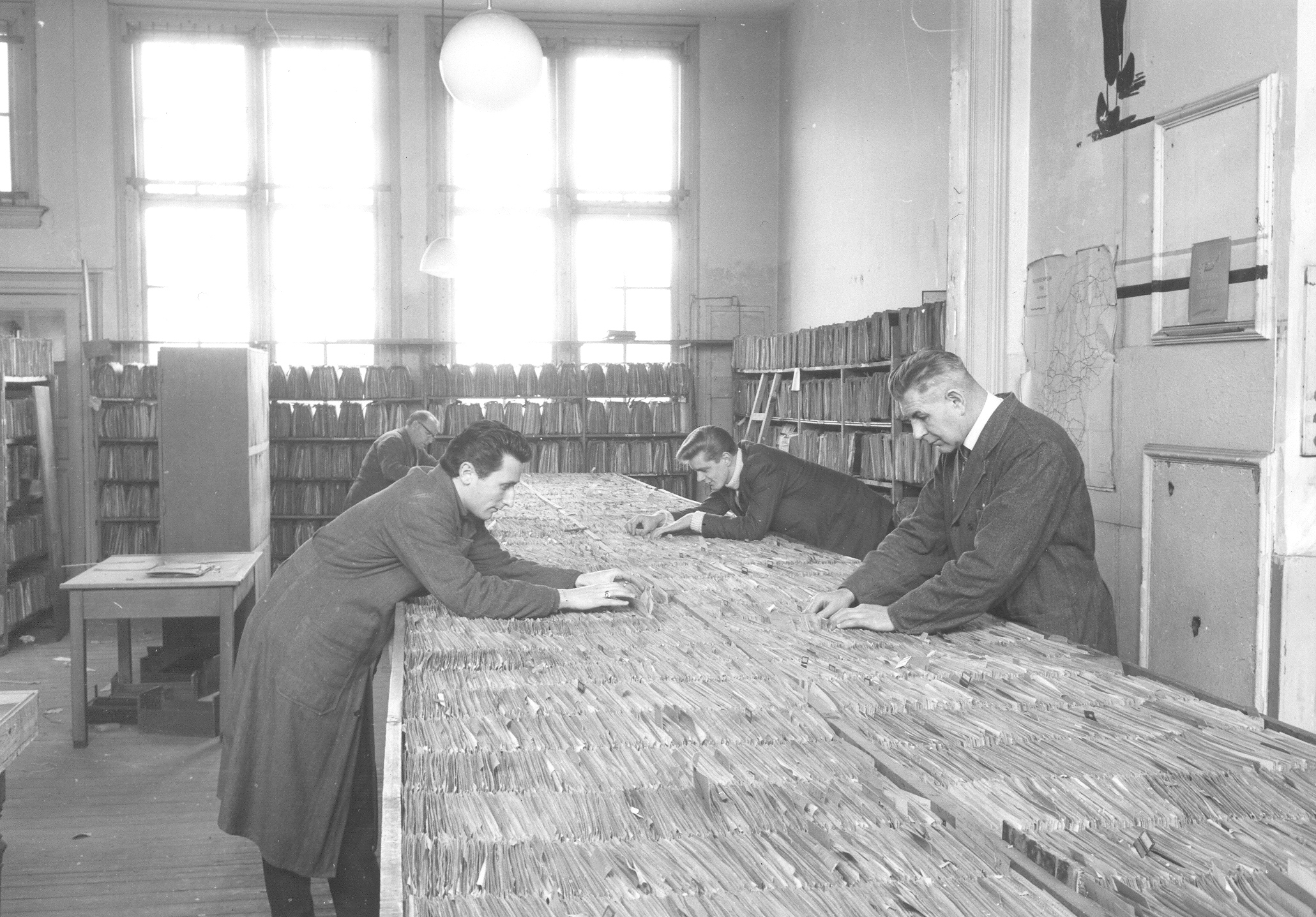 Het central card system of the Central Archive of Special Jurisdiction.