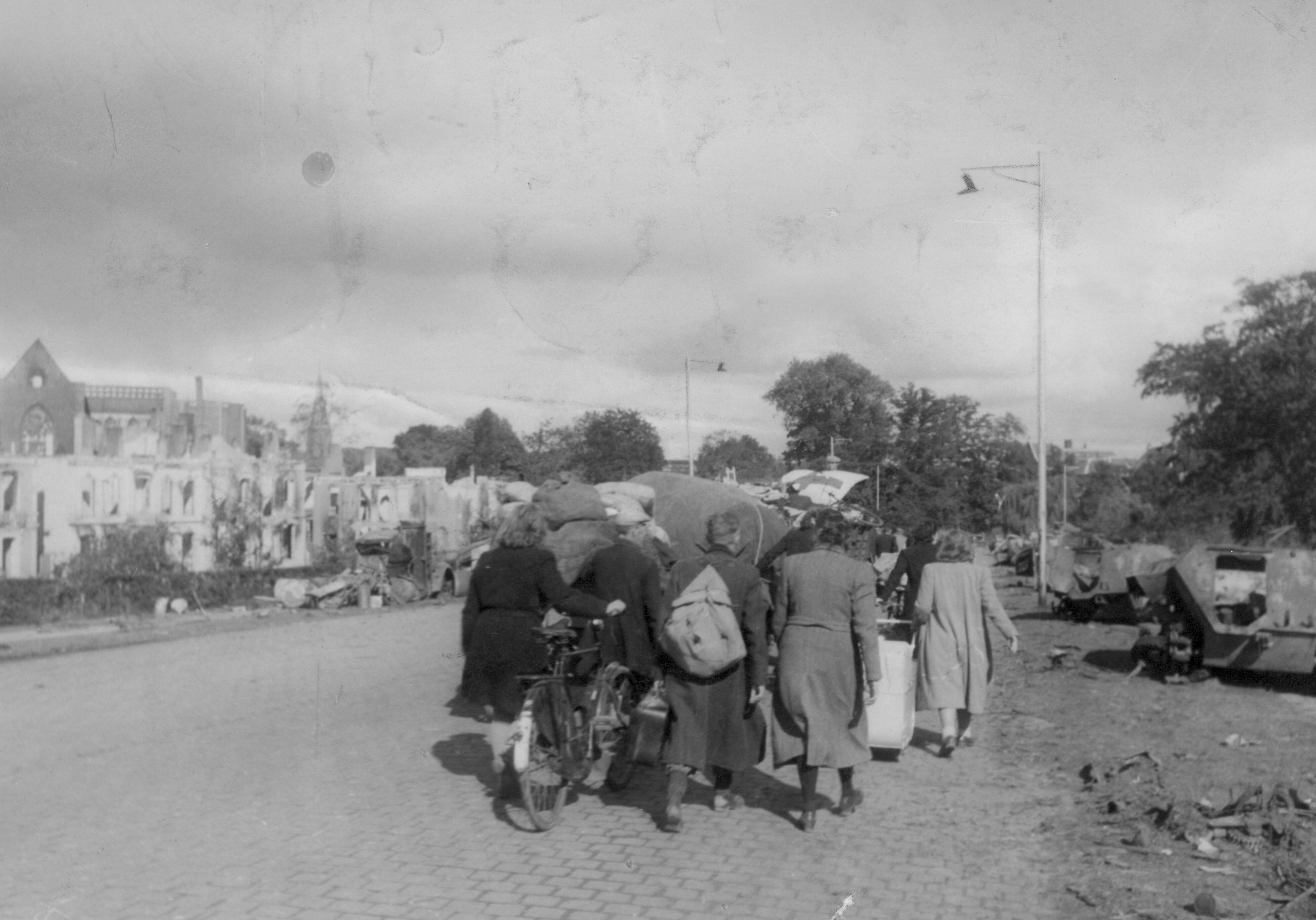 Evacuatie Arnhem