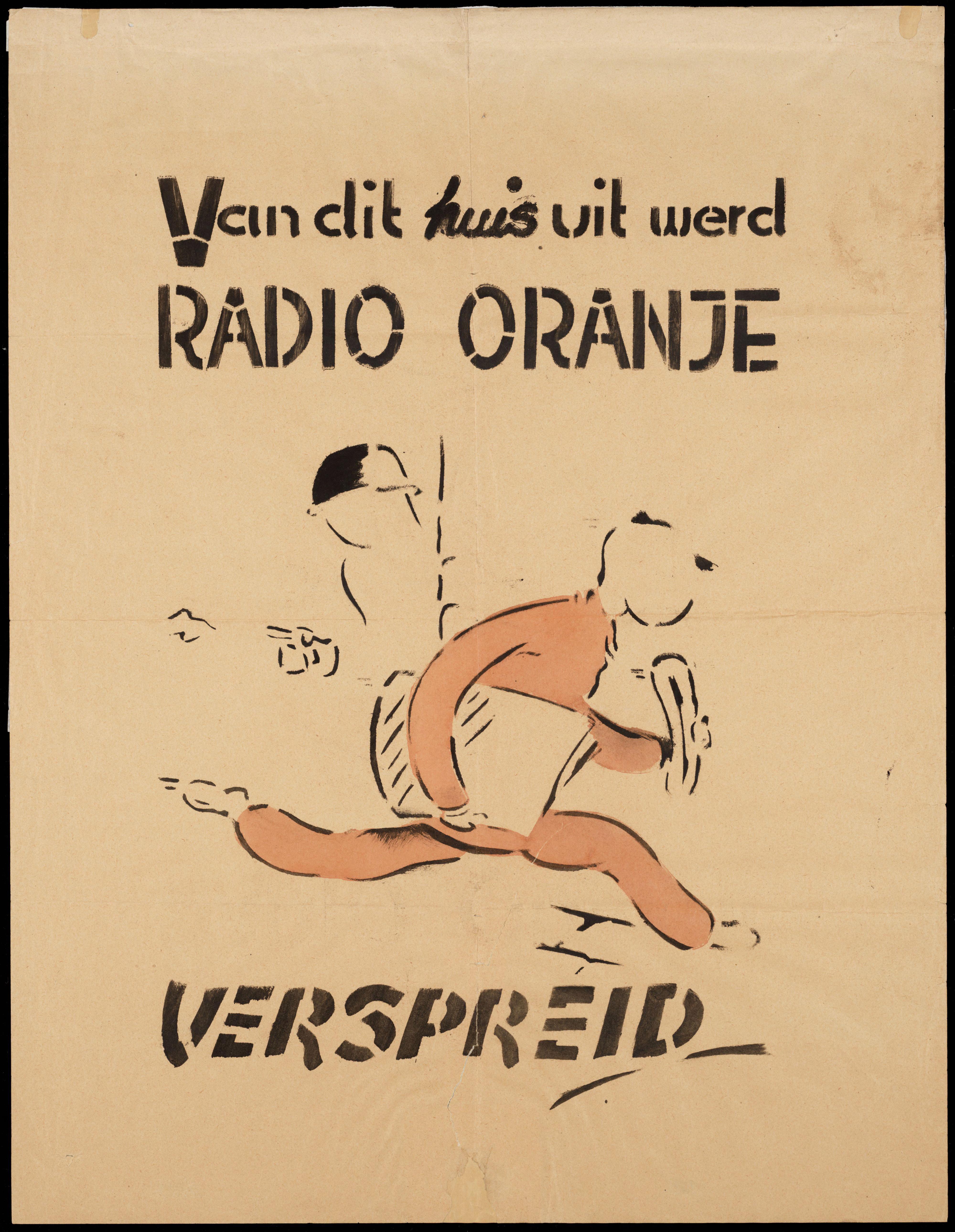 Affiche Radio Oranje