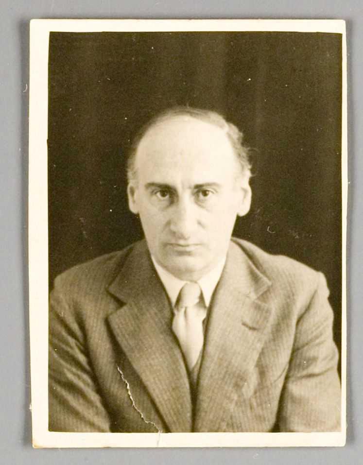 Philip Mechanicus rond 1940.