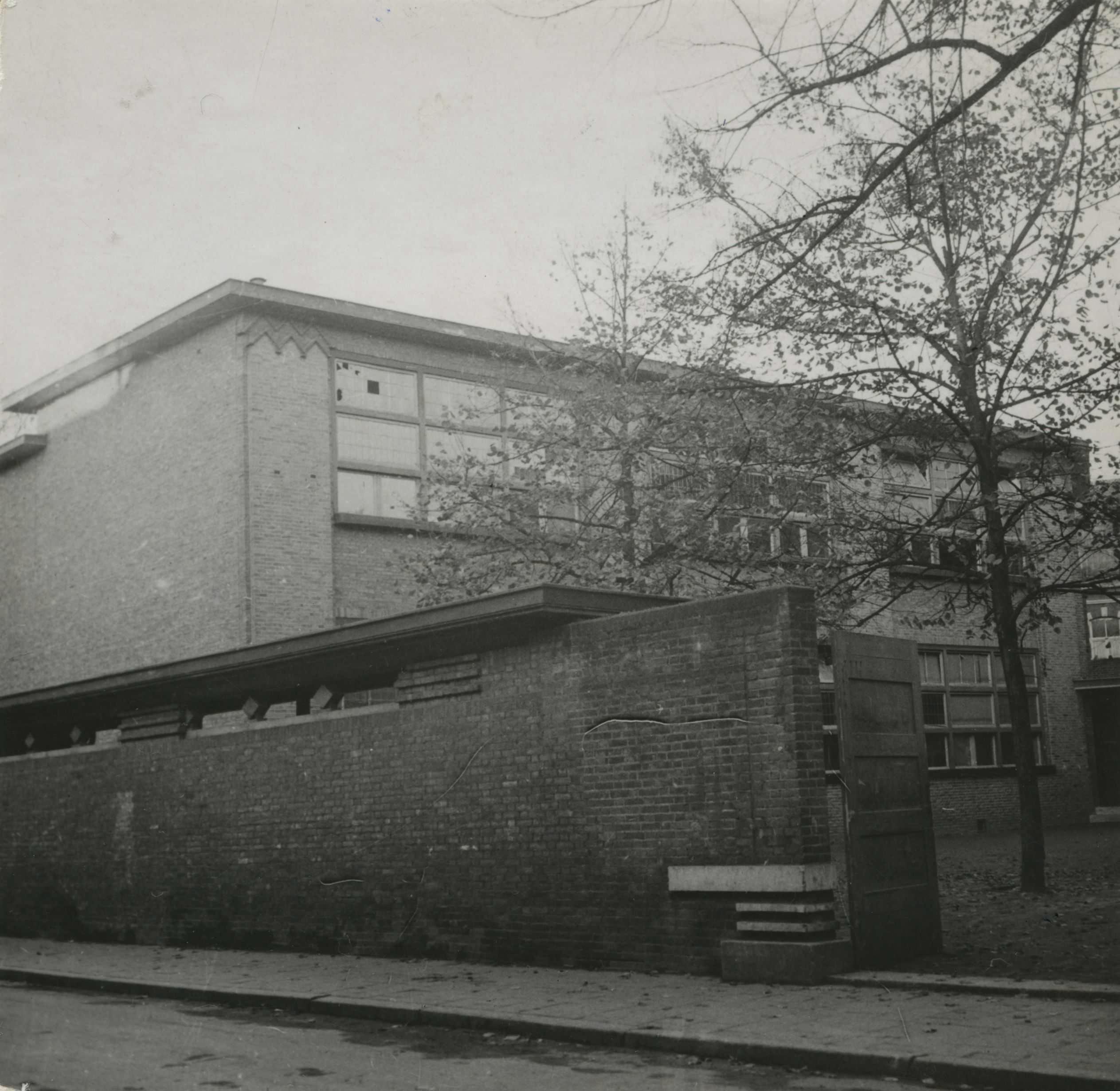 Verzamelpunt bij school in Maastricht