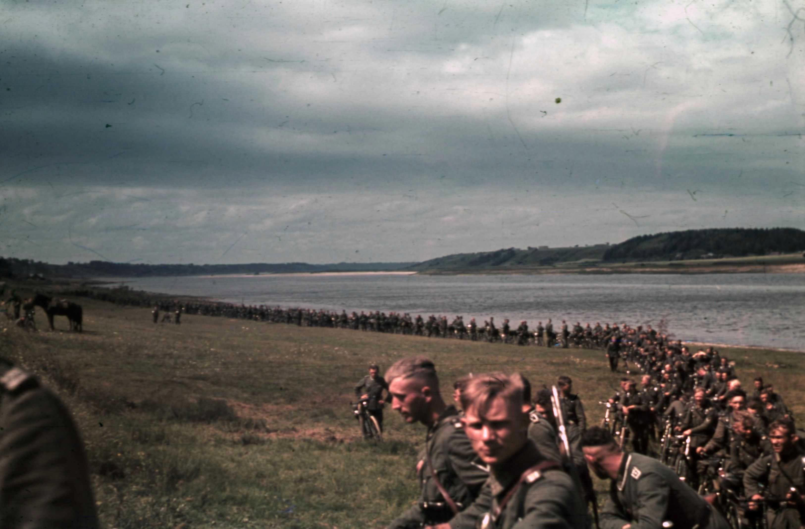 Duitse militairen aan het Oostfront in de zomer van 1941