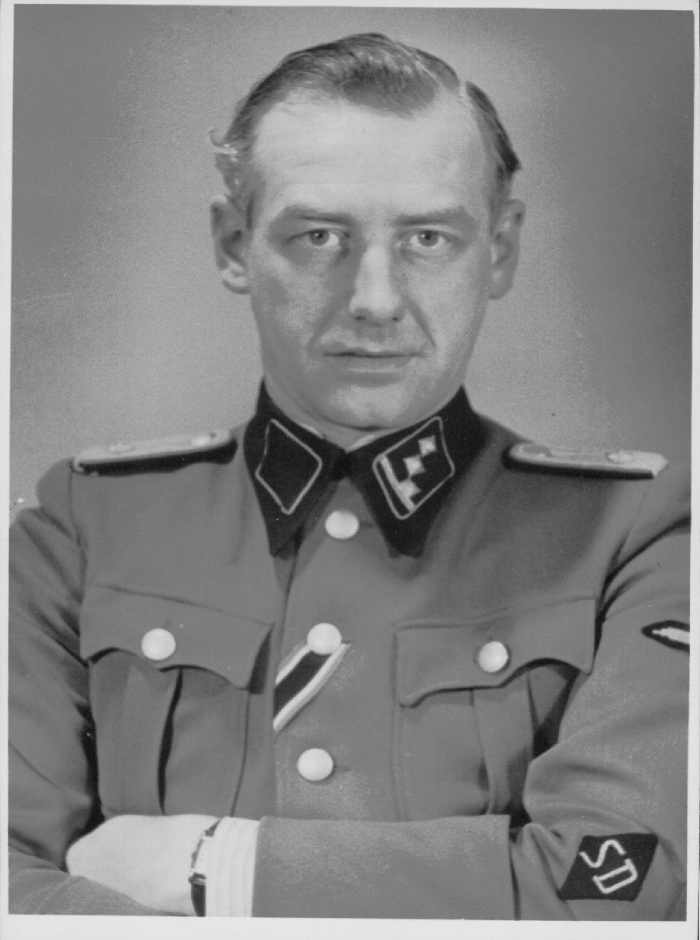 Albert Konrad Gemmeker als commandant van Kamp Westerbork