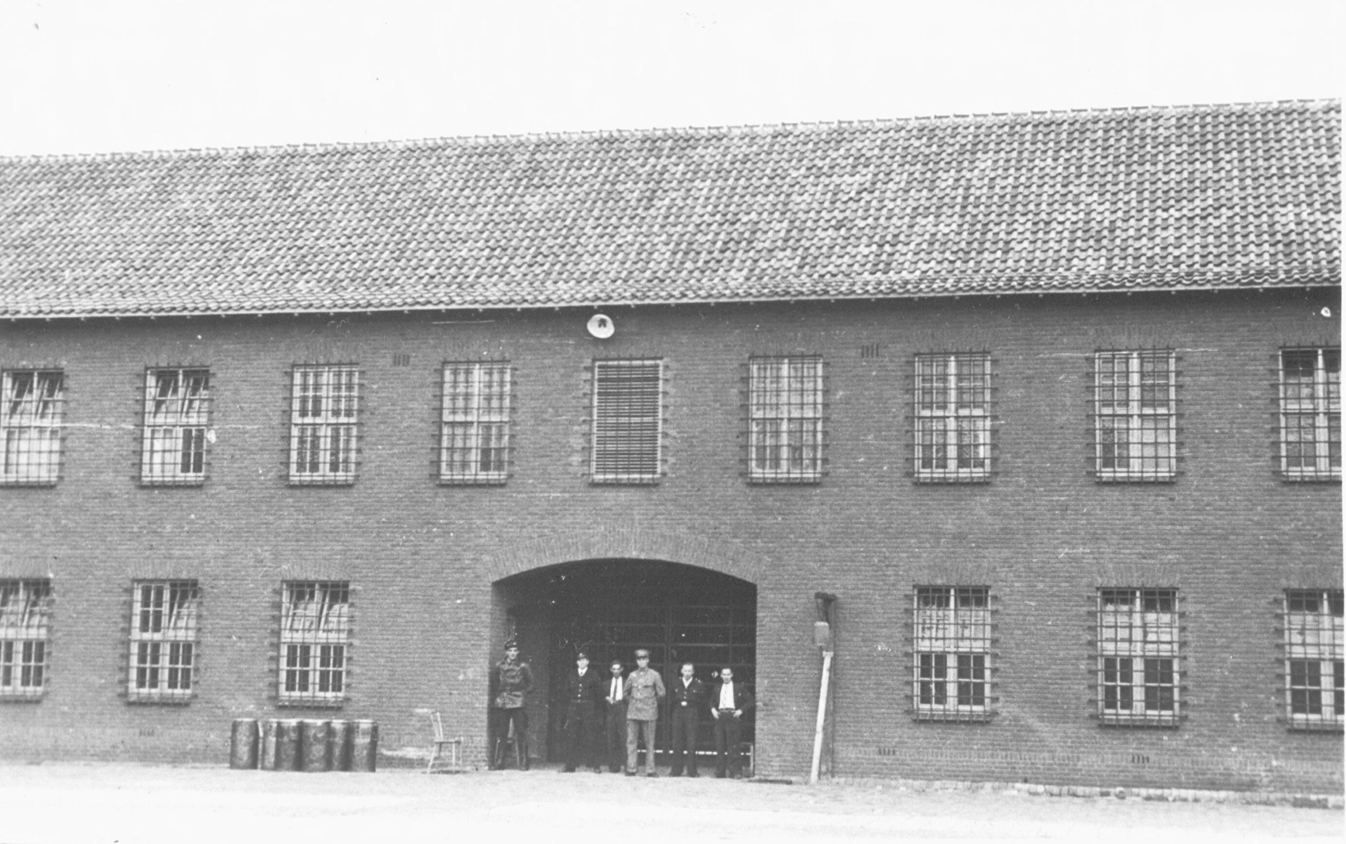 Gevangenis de Bunk in Kamp Vught