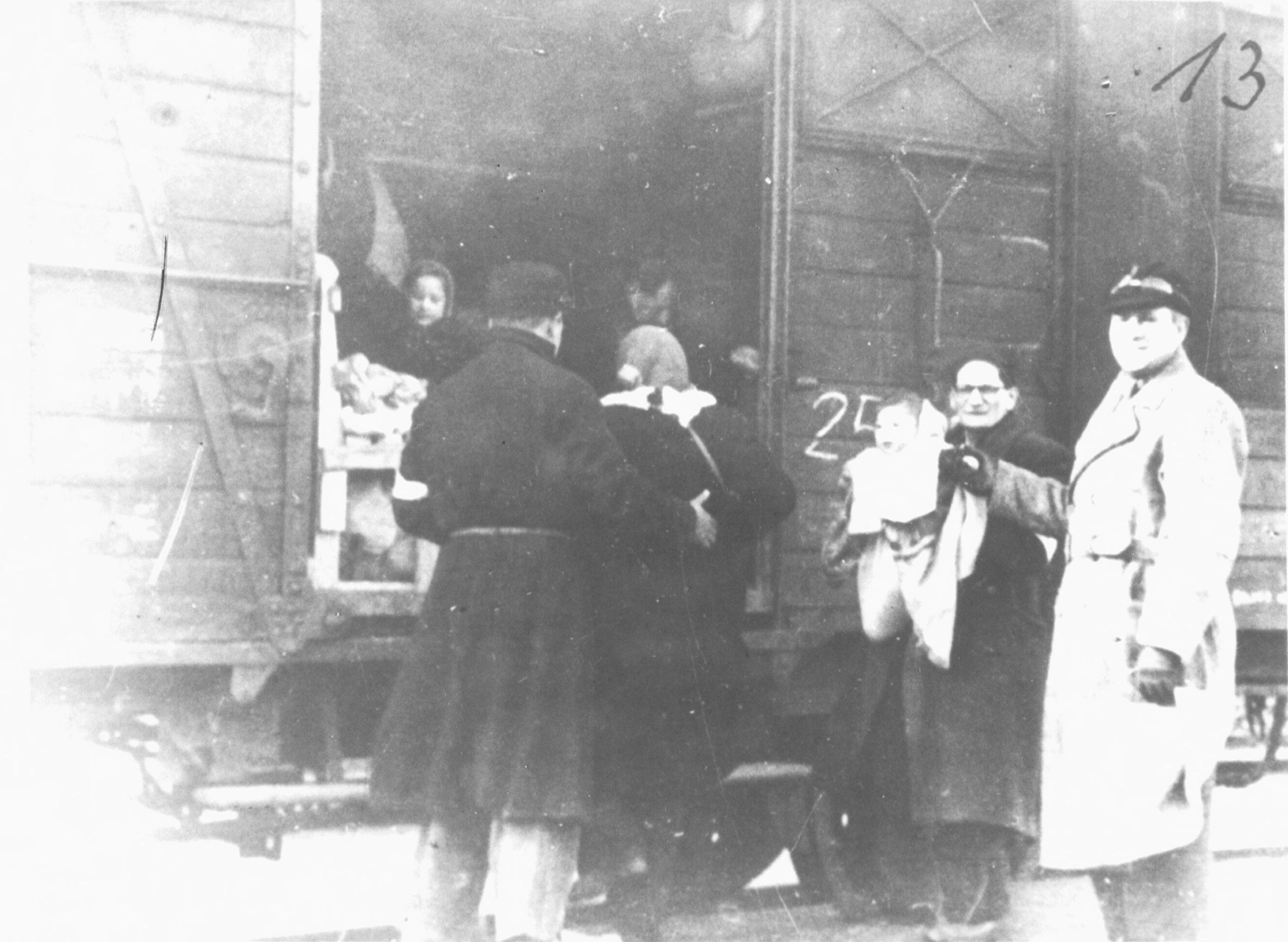 Transport vanuit Westerbork