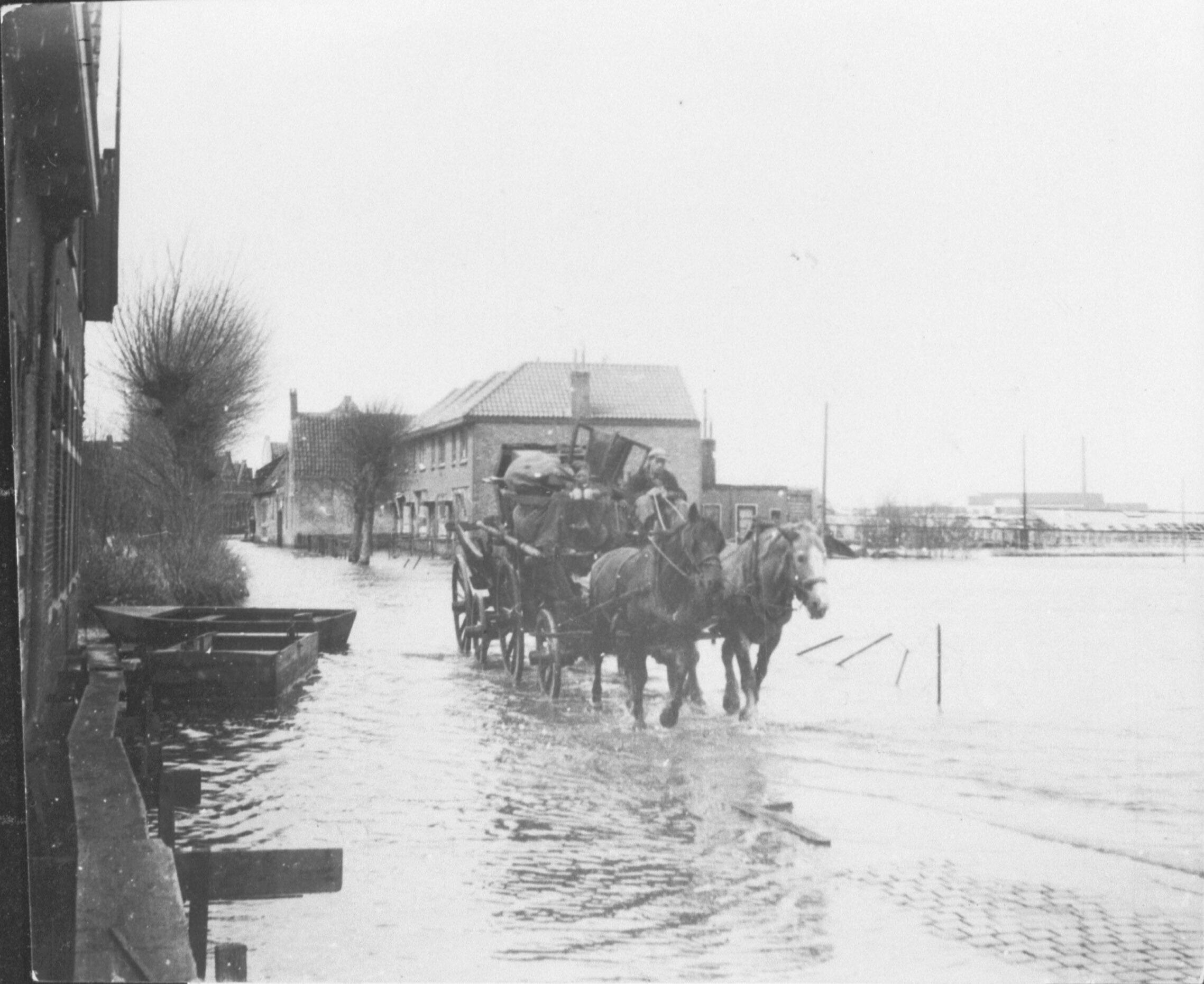 Evacuatie in Middelburg