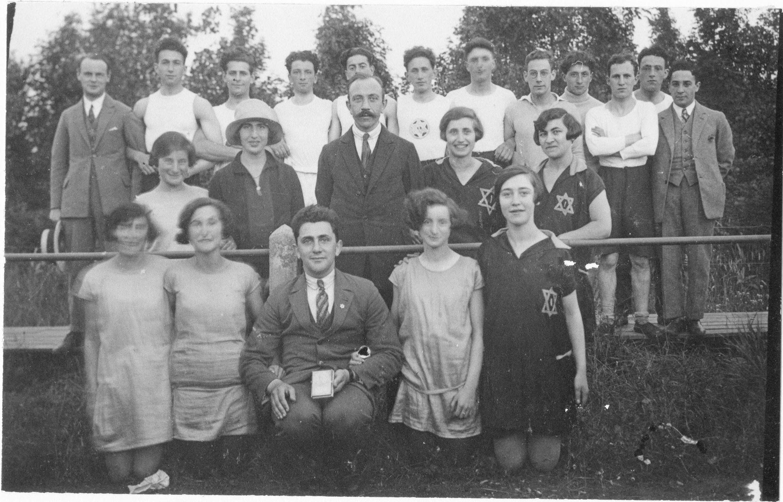 Joodse gymnastiek- en atletiekvereniging Ivria uit Groningen
