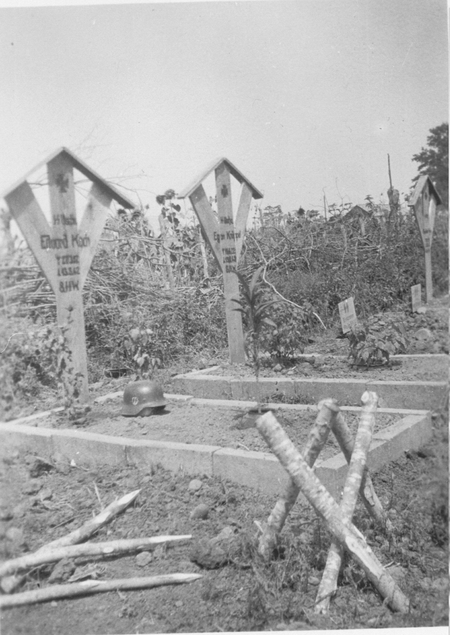 Eerste doden onder de Nederlanders in Wiking
