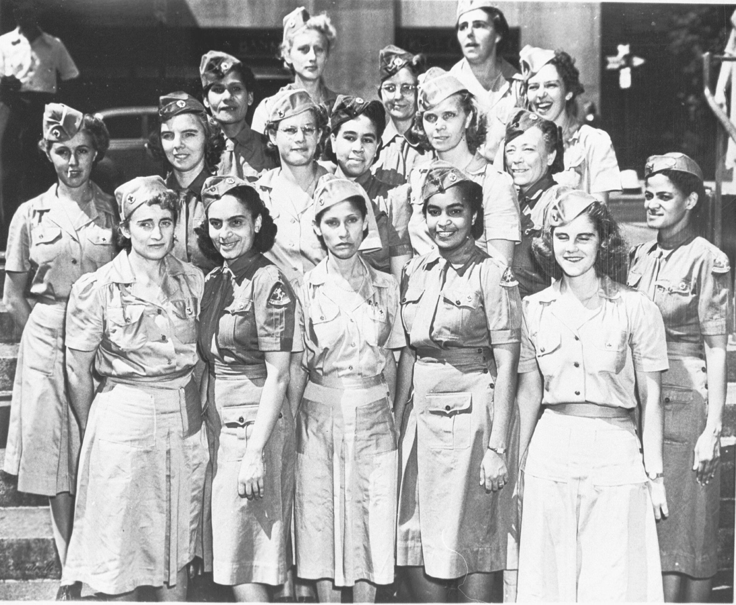 Marine Vrouwenafdeling in Suriname