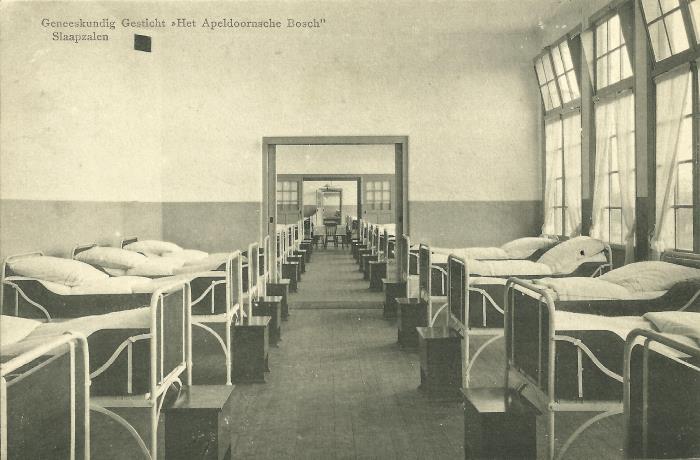 Slaapzalen in het Apeldoornsche Bosch