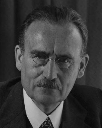 Willem Drees als Minister van Sociale Zaken in 1947.