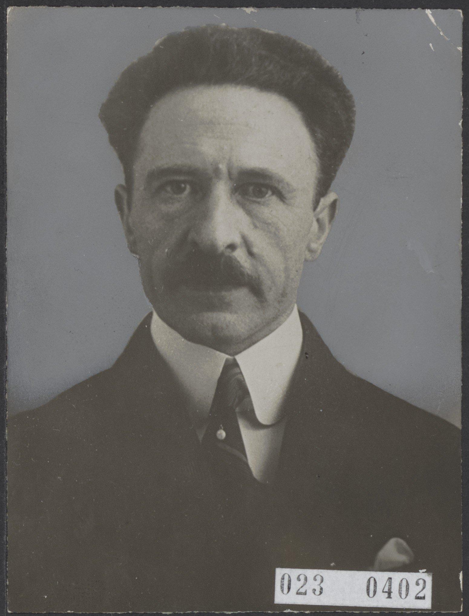 Leo Polak in 1925 tijdens zijn bijzonder hoogleraarschap Rechtsfilosofie aan de Universiteit Leiden