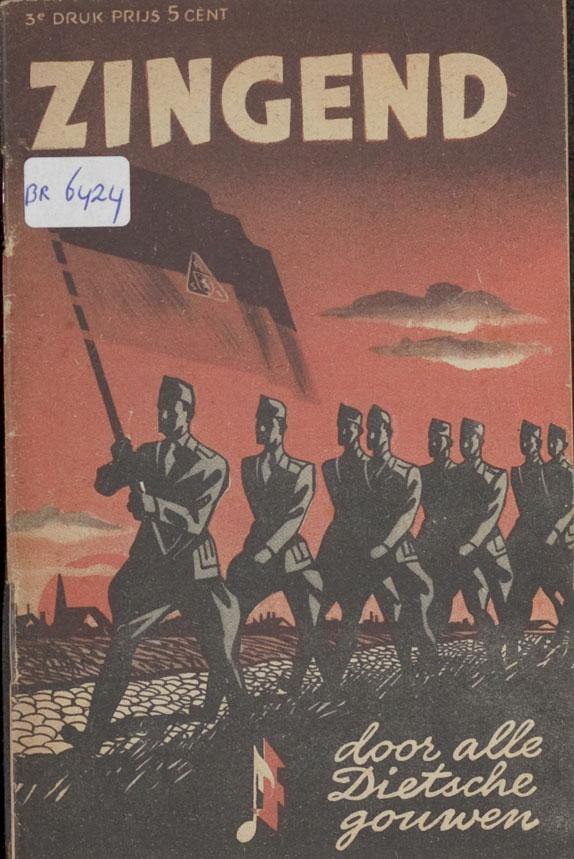 Liedboekje van de NSB, verschenen in 1942 en samengesteld door Melchert Schuurman