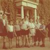 Kinderen bij Ilaniah in Apeldoorn. Circa 1948.
