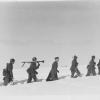 Nederlandse vrijwilligers van SS-Standarte Westland tijdens hun opleiding in het OostenrijkseKlagenfurt op 16 maart 1942.