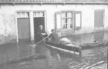 Inundatie in Oost-Kapelle