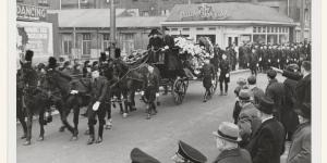 Begrafenis van Hendrik Koot