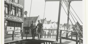 Wehrmacht-militairen in Volendam in april 1942