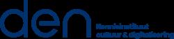 Logo DEN Kennisinstituut cultuur & digitalisering